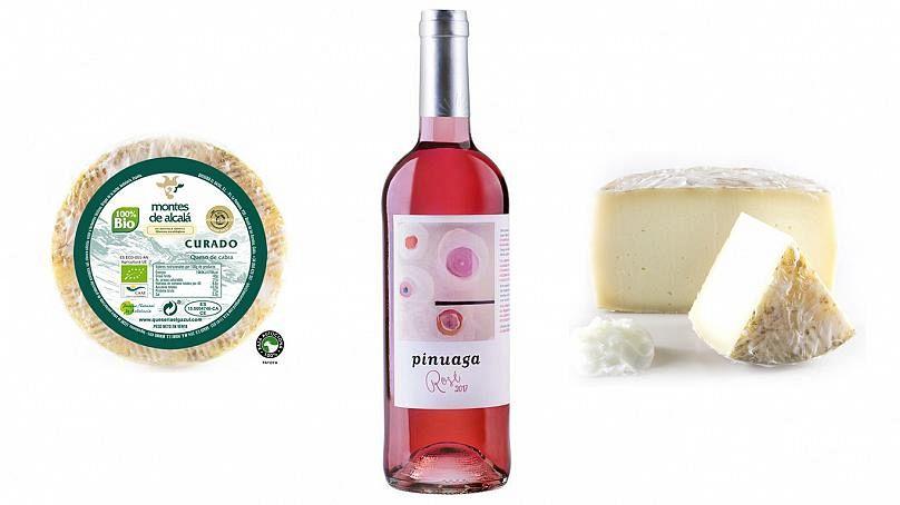 'Pinuaga Rosé'Quesería El Gazul / Bodegas Pinuaga
