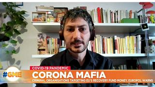 Executive Director at Transparency International Italy Davide Del Monte speaking on Good Morning Europe on September 18, 2020