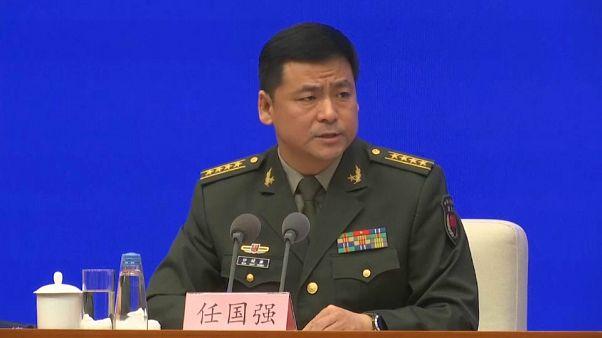 رين غوكيانغ الناطق باسم وزارة الدفاع الصينية