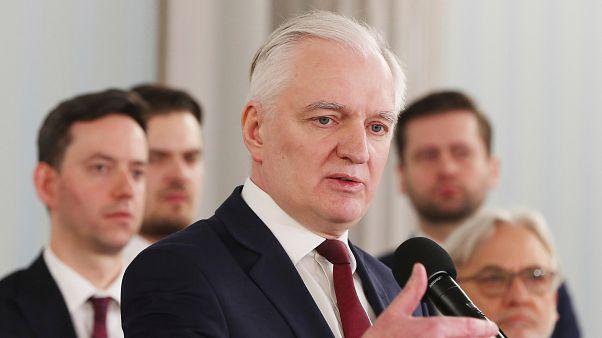 Primeiro-ministro adjunto Jaroslaw Gowin demitiu-se em abril