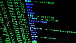 Bildschirmfoto eines Computers