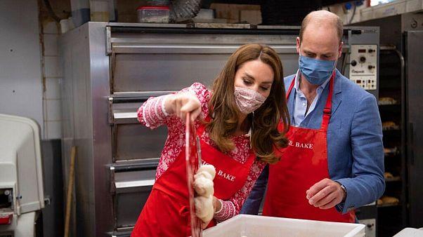 نانپزی نوه ملکه بریتانیا و همسرش