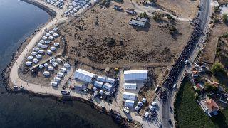 Ya son 7.000 los refugiados de Moria reubicados en otro campo