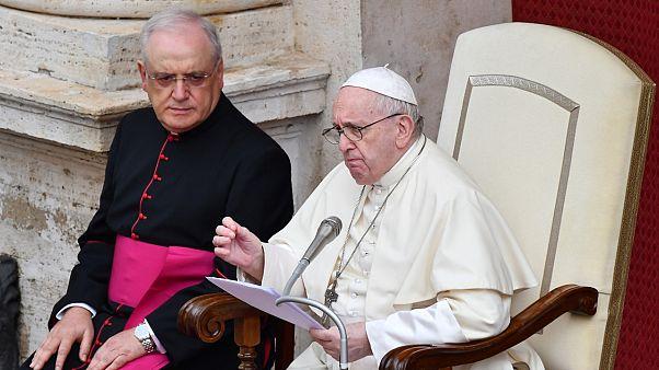 Katoliklerin Ruhani lideri Papa Françis