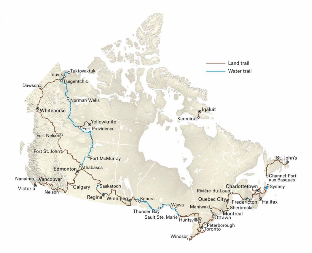 The Great Trail of Canada