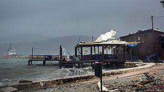 Sturm auf griechischer Ferieninsel