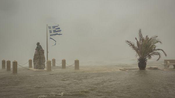 Argostoli auf der Insel Kefalonia, Freitag