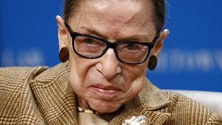 Imagen de archivo de la jueza del Tribunal Supremo Ruth Bader Ginsburg