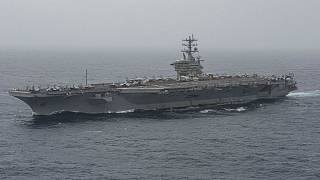 the aircraft carrier USS Nimitz