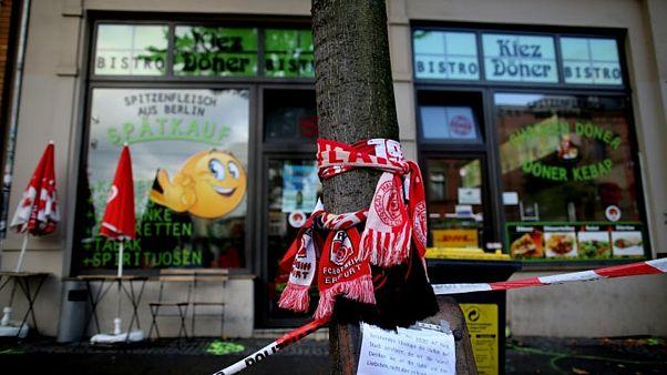Halle'de ırkçı saldırının olduğu döner büfesi