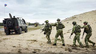 من التدريبات المشتركة بين الجيشين