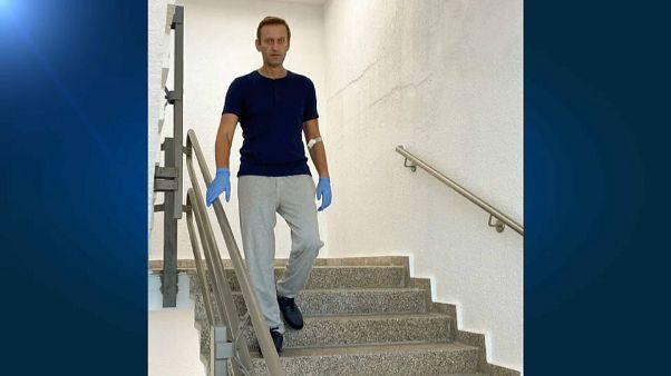 Alexej Nawalny hat auf Instagram ein neues Bild von sich gepostet