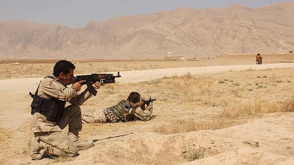 نیروهای امنیتی افغانستان در کندز