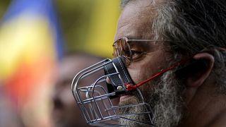 Акция протеста в Бухаресте