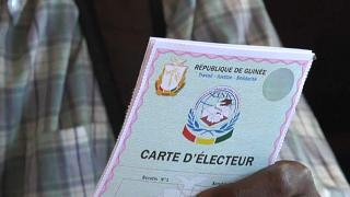 Guinea starts distribution of voting cards ahead of October Elections