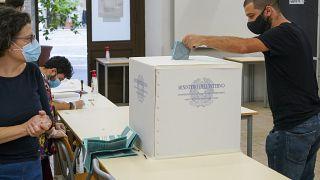 Голосование в Италии