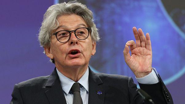 AB Komisyonu'nun İç Pazardan Sorumlu Temsilcisi Thierry Breton