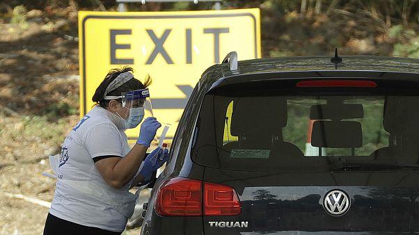 Проверка на дорогах в Великобритании