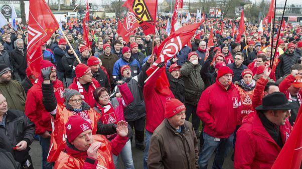 Metal işçileri protesto yürüyüşü (2018)