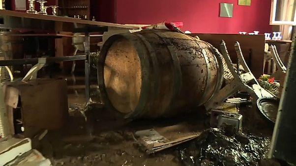 Последствия наводнений в департаменте Гар (Франция)