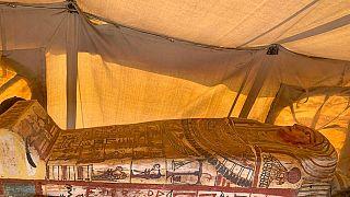 Mısır'da bulunan tarihi lahit