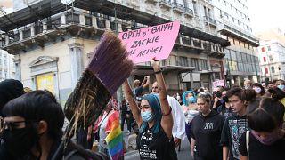 Πορεία με αφορμή την συμπλήρωση δύο ετών από τη δολοφονία του Ζακ Κωστόπουλου