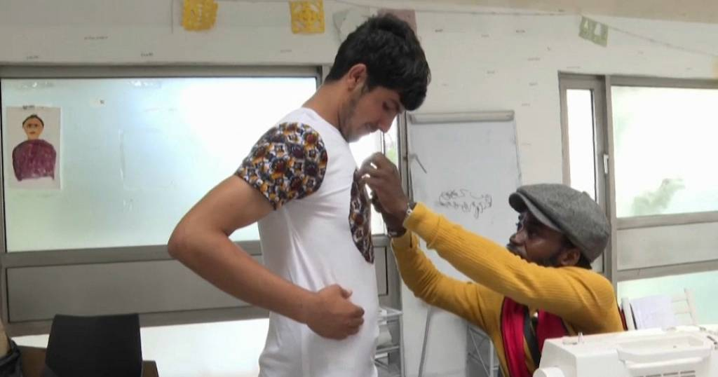 Congolese Refugee Designer Dresses to Inspire Other Asylum Seekers