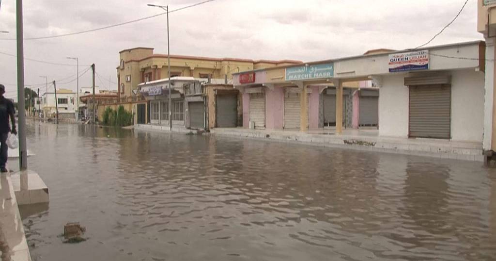 Mauritania: Floods from heavy rains in Nouakchott