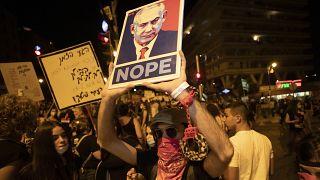 تظاهرات در بیتالمقدس علیه نتانیاهو