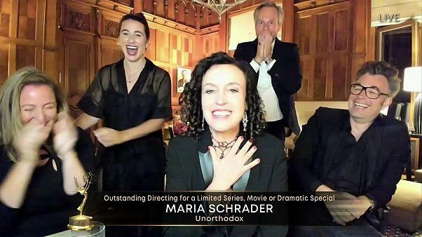 Große Freude bei Maria Schrader und Team