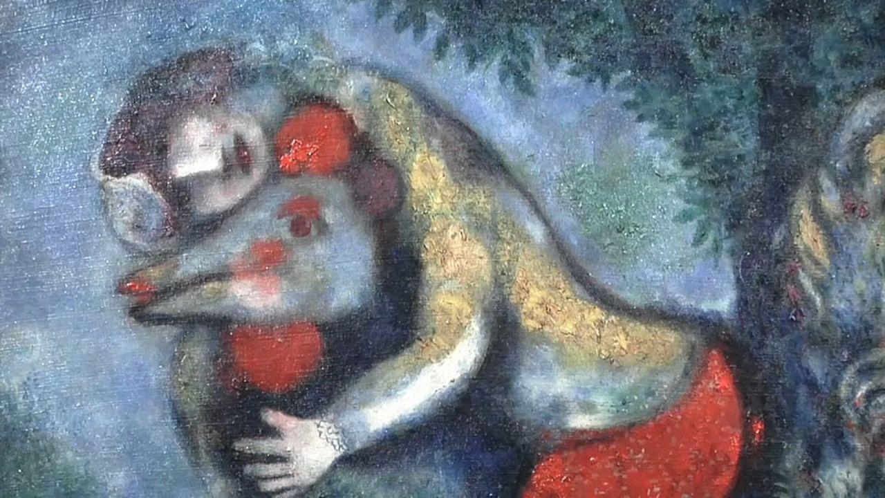 Chagall: Un universo onírico y misterioso