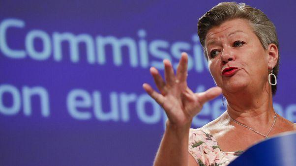 EU commissioner for home affairs Ylva Johansson