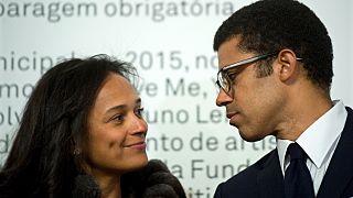 Isabel dos Santos e o marido foram alvo de relatórios sobre atividades suspeitas