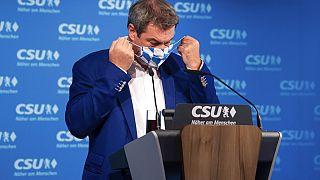 Markus Soeder, governador da Baviera