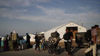 Πρόσφυγες και μετανάστες στη Λέσβο