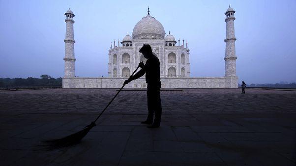 «تاج محل» نگین صنعت گردشگری هندوستان دوباره باز میشود