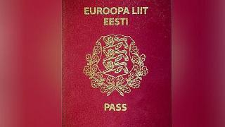 گذرنامه استونی