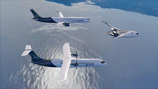 15 éven belül jön az Airbus első zéró kibocsájtású repülőgépe