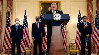 کنفرانس خبری مقامات آمریکا