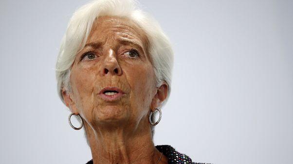 كريستين لاغارد ، رئيسة البنك المركزي الأوروبي