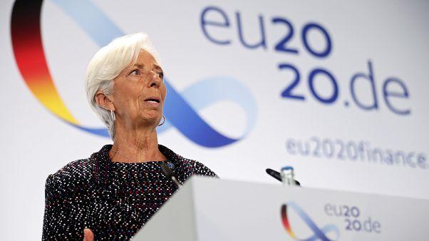 European Central Bank (ECB) President Christine Lagarde