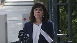 Yunanistan Cumhurbaşkanı Katerina Sakellaropoulou