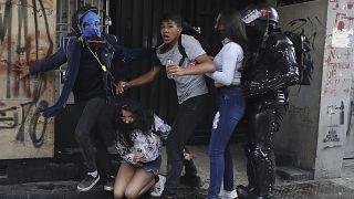 Widerstand gegen Polizeigewalt - neue Proteste in Kolumbien