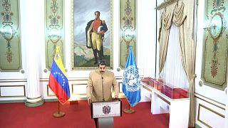 Declaración institucional de Nicolás Maduro ante la ONU