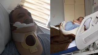 Osman Şiban ve Servet Turgut'un, helikopterden atıldıklarına yönelik iddiayı hastane raporu doğruladı