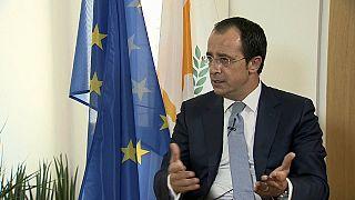 Zyperns Außenminister Nikos Christodoulides im Euronews-Gespräch