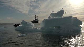 Arctique : la fonte de la banquise s'accélère