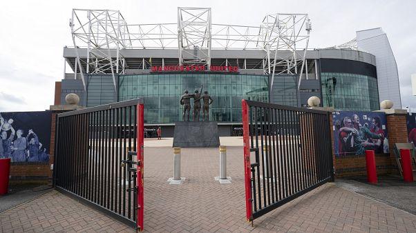 Ürességtől kong a Manchester United otthona, az Old Trafford stadion 2020. március 14-én