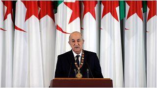 """الرئيس الجزائري عبد المجيد تبون قال إن التطبيع """"هرولة لا نباركها ولا نشارك فيها"""""""