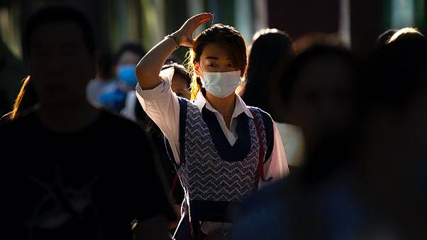 Fegyelem: Pekingben mindenki arcmaszkot visel